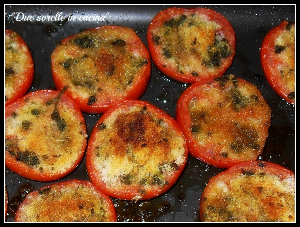 Pomodori ripieni gratinati al forno | Due sorelle in cucina
