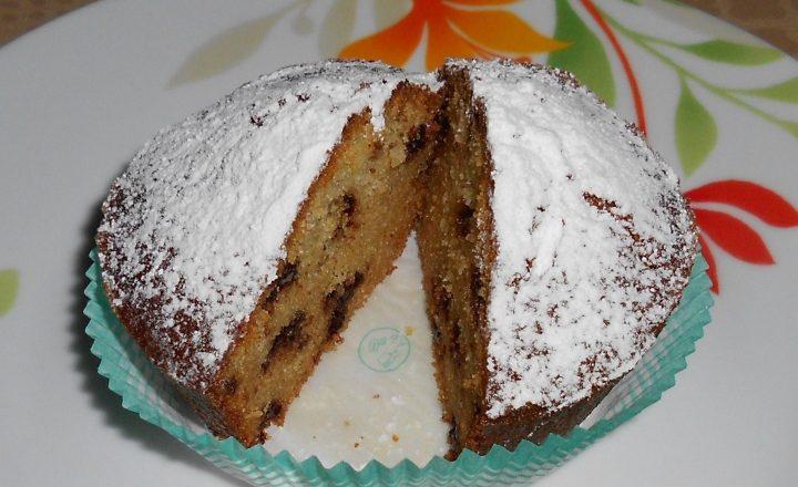 Non solo frittelle e chiacchiere per carnevale: Muffin con farina di riso e pezzi di cioccolato