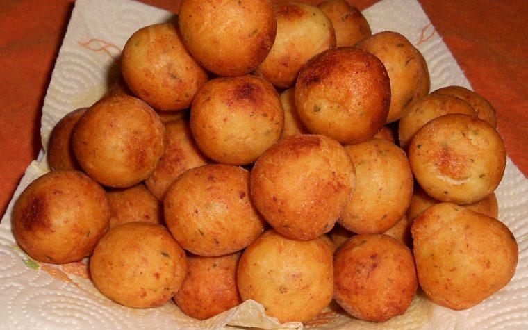 Palline di crocchette di patate