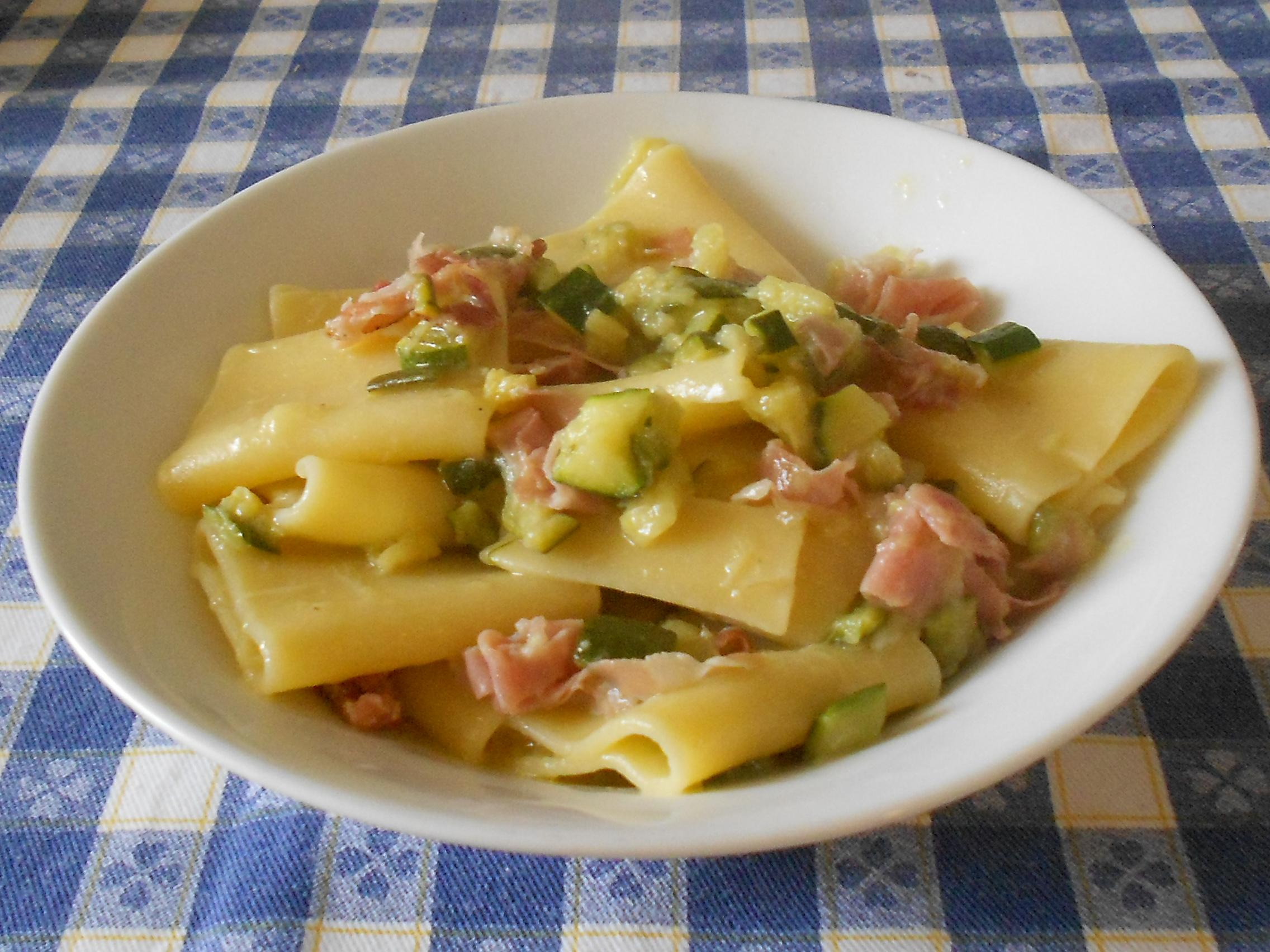 Ricerca ricette con paccheri zola e speck for Siti cucina