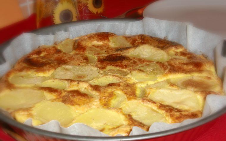 Frittata al forno con patate