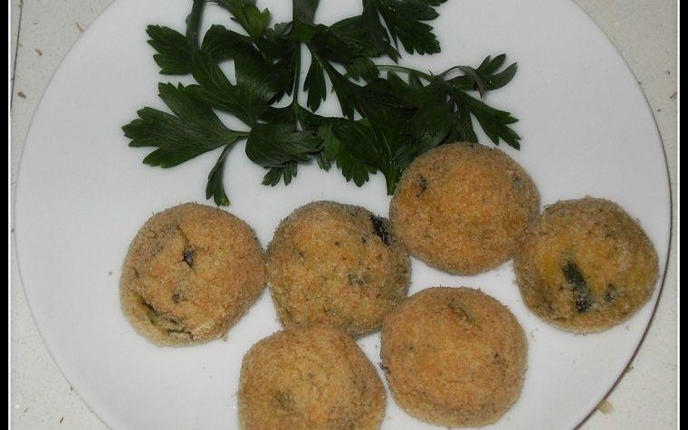 Polpette di patate e zucchine al forno