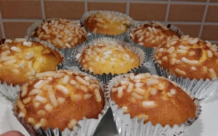 Muffin con farina riso e yogurt (ricetta nickel free)