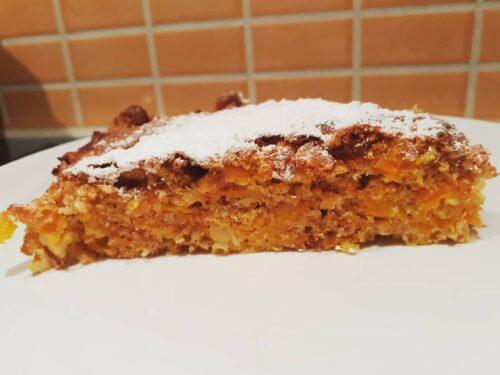 Torta rustica di carote