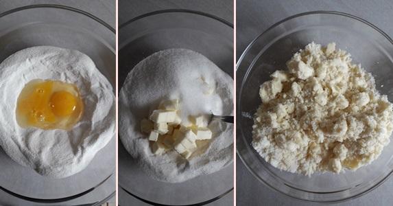 Biscotti di riso ai mirtilli