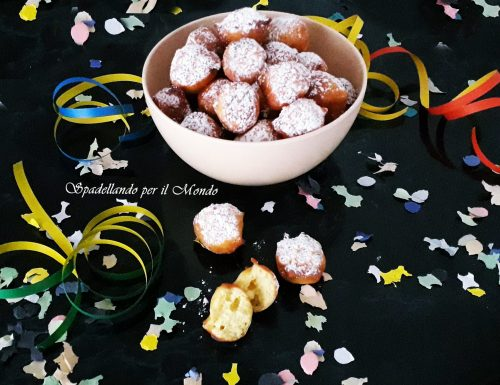 Frittelle di Ricotta e Limone