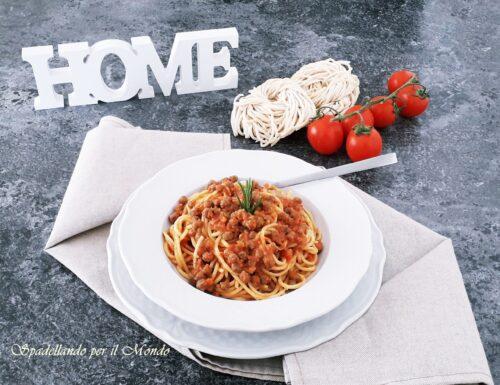 Spaghetti alla Chitarra con Pallottine