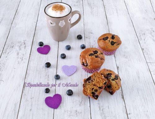 Muffin Fit ai Mirtilli