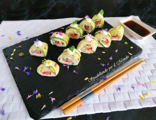 Sushi Vegetariano Proteico
