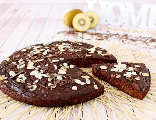 Torta fit Cioccolato e Kiwi