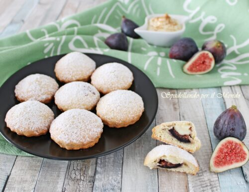 Biscotti ai Fichi e Crema pasticcera