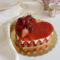 Cheesecake alle Fragole a forma di cuore