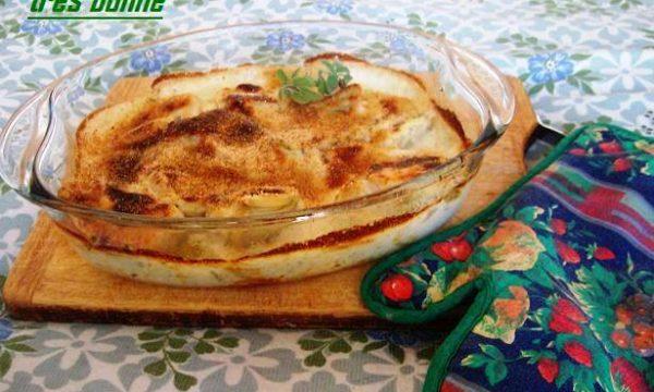 Zucchine al latte cucinate in forno