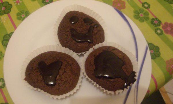 Muffin cioccolato nesquik fragola