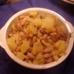 Insalata di fagioli tonno e patate