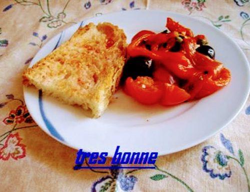 Insalata di peperoni grigliati al forno