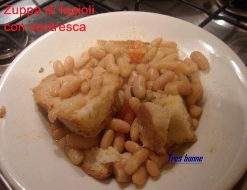 Zuppa di fagioli con ventresca