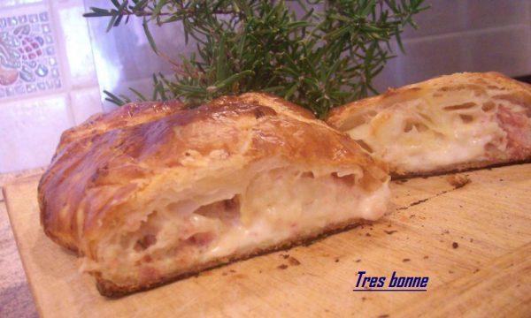 Rustico cremoso patate prosciutto cotto e rosmarino