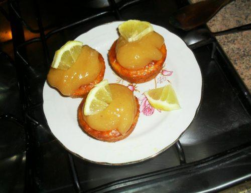 Muffin glassati al limone