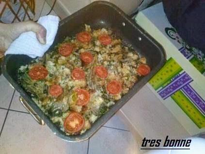 Funghi gratinati al forno alla pizzaiola