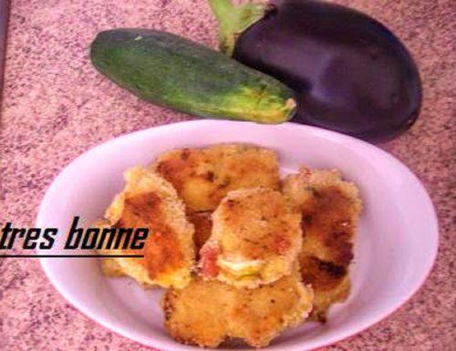 Crocchette di patate zucchine e melanzana