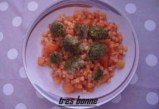 Pasta con sugo di patate e broccoletti