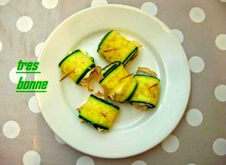 Involtini di zucchine con fesa di tacchino