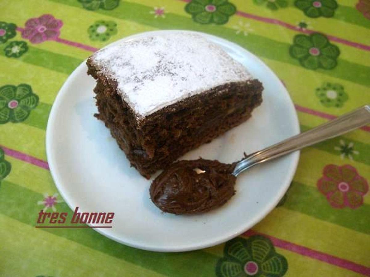 Torta al cioccolato con crema mascarpone e nutella