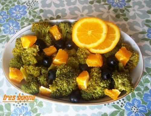 Insalata di broccoli e arance