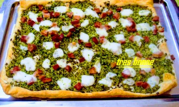 Pizza rustica ai broccoletti