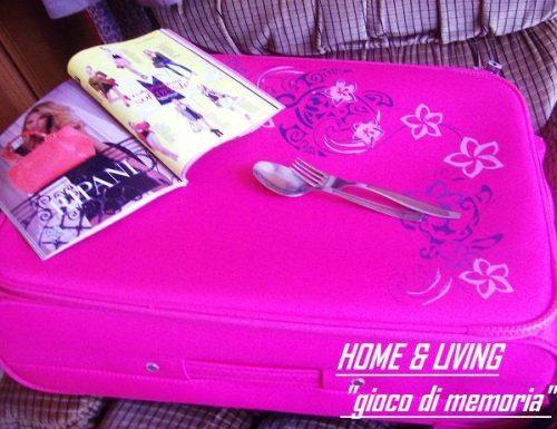 """Gioco di memoria """"Dentro la valigia"""""""
