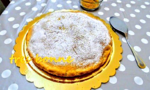 Torta con zucchero di canna e yogurt