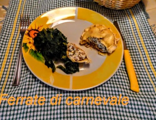 Farrate ricetta di Manfredonia per carnevale
