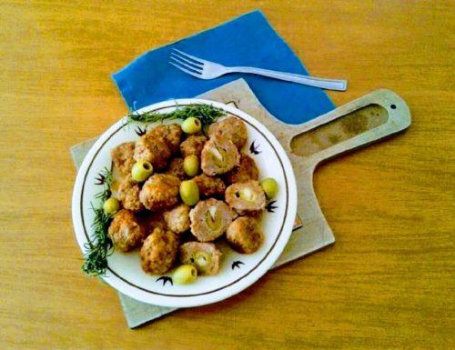 Polpette ripiene con olive