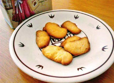 Biscotti con farina di riso senza burro favette