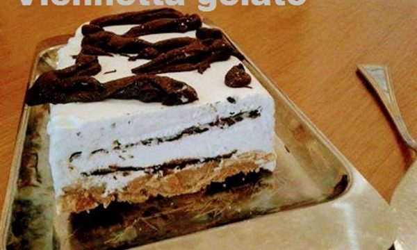 Viennetta gelato home made al cioccolato