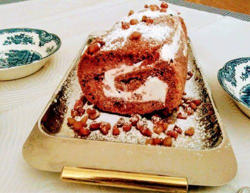 Ricetta red velvet cake rotolo