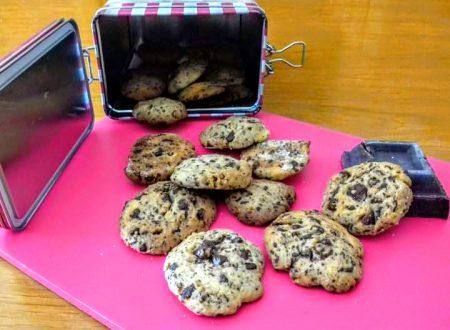 Cookies biscotti al cioccolato senza burro light personalizzati