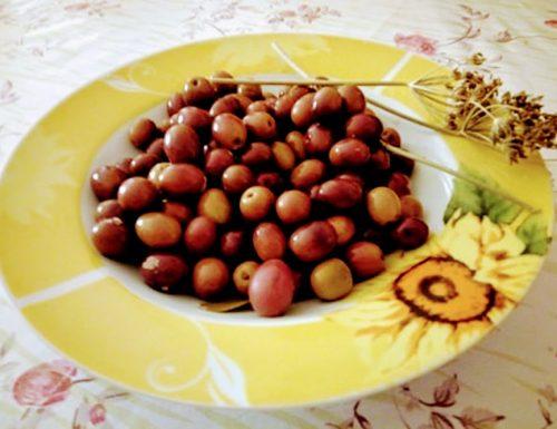 Olive in salamoia ricetta pugliese