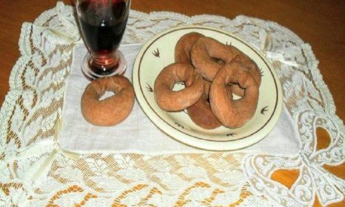 Taralli al vino rosso pugliesi