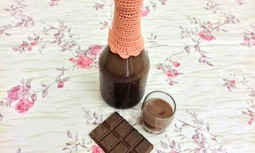 Liquore al cioccolato ricetta collaudata