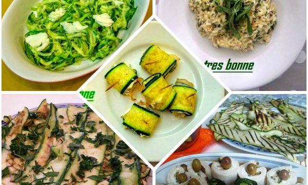 Ricette con le zucchine light