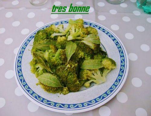 Broccoletti stufati con vino bianco