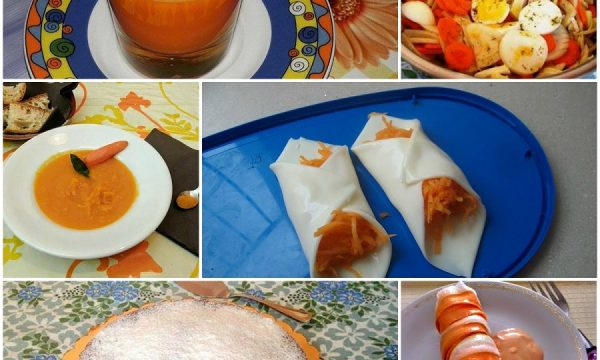 Ricette con carote crude e cotte