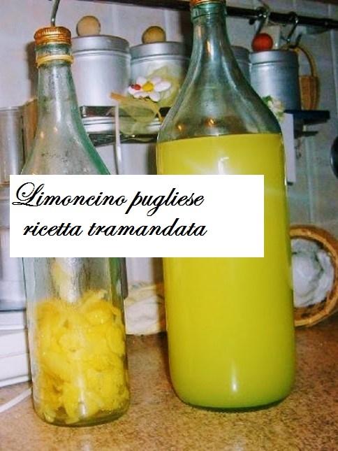 Ricetta liquore limoncino