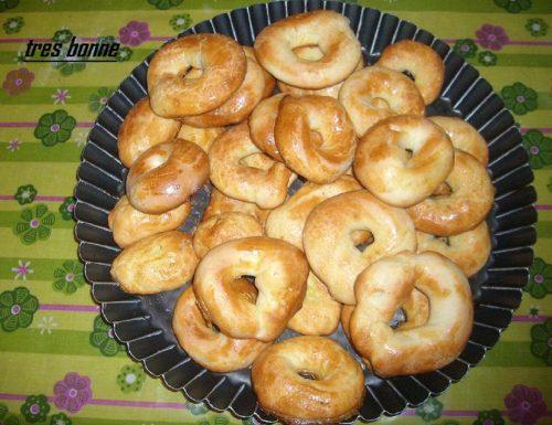 Biscotti a forma di ciambella
