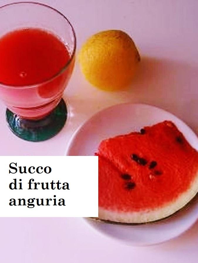 Succo di frutta anguria