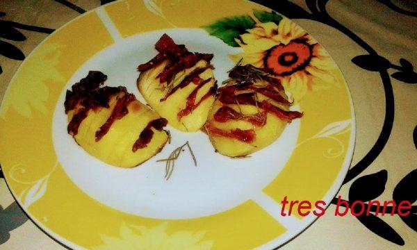 Fisarmonica di patate ricetta