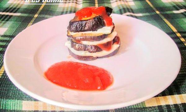 Torrette di melanzane al ketchup