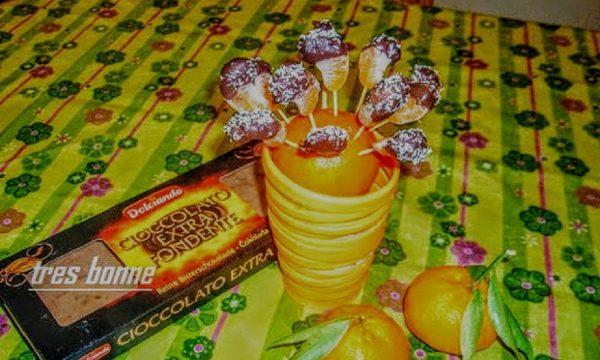 Spicchi di mandarino al cioccolato
